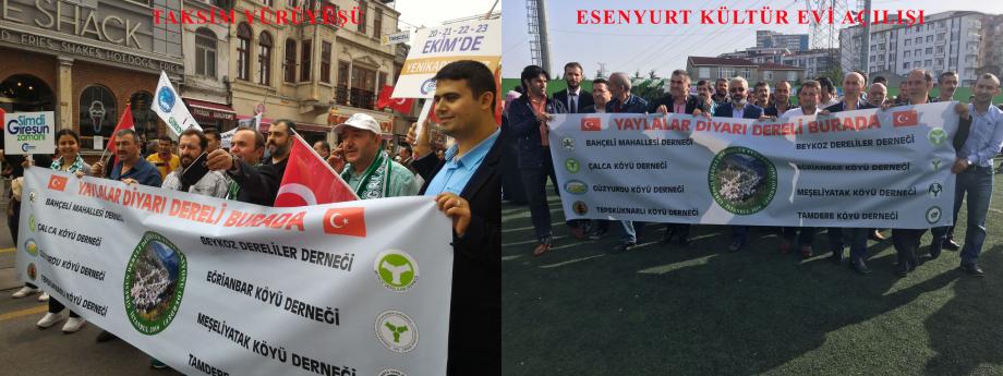 Taksim Yürüyüşü ve Esenyurt Giresunlular Kültür Evi Açılışı 2016