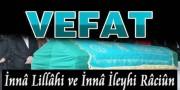 Vefat - Mustafa CAMCI (08.06.2017)