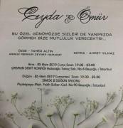 Düğün - Ceyda ALTIN & Ömür YILMAZ (26.10.2019)